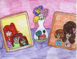 Molly and Gayle, at 13 by Toongrrl