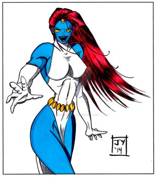 Mystique by TheYuanTwins