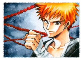 BLEACH Ichigo by Naschi