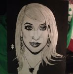 Haley Rose Painting by bewitchedgirl