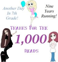 1,000 Reads! by lonely-in-winter