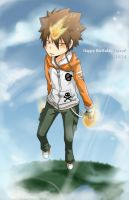 1014 - Happy B-Day Tsuna by Suikka