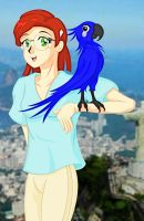 482-Rio-Feathery Pals by Silverlegends