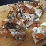 Salsa Baked Chicken with Feta by nosugarjustanger