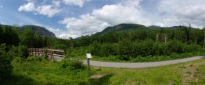 Franconia Notch State Park Panorama by dseomn
