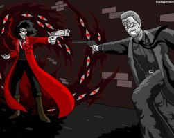 Hellsing vs Sin city by fireheart1001