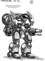 MechWarrior 4 Templar by Mecha-Zone