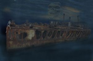 Death's Ghost Ship by Jejune-mH