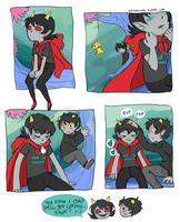 Karezi comic by VulpesLunaris