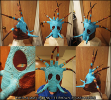 How To Train Your Dragon 2 - Valka Cosplay Mask by sugarpoultry