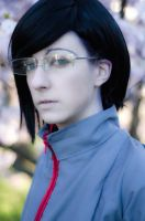Bleach cosplay: Ishida Uryu Post-timeskip by Pink-Rattie