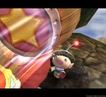 Brawl Picture- Olimar The Mole by ArenWolfDemon