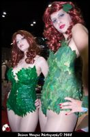 Megacon '09 - Two Ivys by deimosmasque