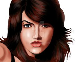 camilla belle digital coloring 2 by rzart