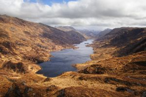 Loch Beoraid, Morar, Highlands of Scotland by younghappy