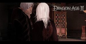 Dragon age II - alone with you ... by Light-Ferron