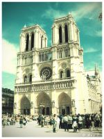 Notre Dame Cathedral by Ana-D