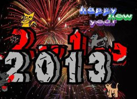 Happy New year 2012 - 2013 by ErIkEe9139