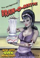 Brain-o-Matic by JenniferBiro