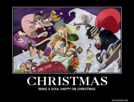 Soul Eater Christmas by AlphaMoxley95