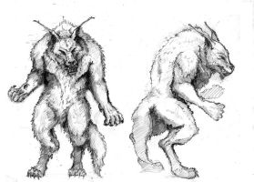 Werewolves concept by 4AcrossIsEmu