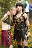 Xena and Gabrielle by Colicade