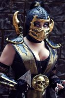 Lady Scorpion - Katsucon by Sheik19