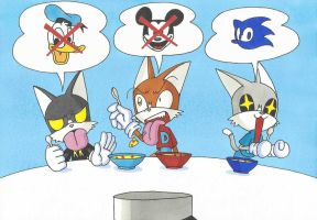 Sonic the Hedgehog Bowl by AndyCat90