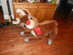 Giant Rudolph the Red-Nosed Reindeer plush doll by dth1971