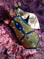 Ladies Etched Half Bracer by SteamViking