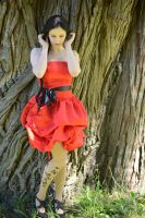 Red Satin 30 by Anariel-Stock
