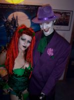 My poison ivy and his joker... by silverhart