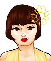 my darling sunflower wife by bellypebbles