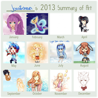 2013 - My Summary of Art by cloudylicious