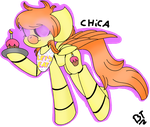 Chica Fnaf Ponified by TheMajesticButter394