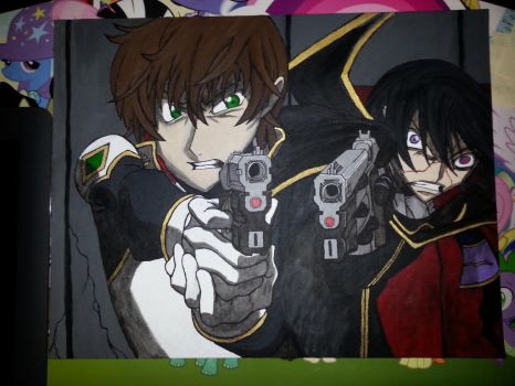 Code Geass Painting by AgentEvans