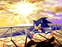 Sonic And Ocean by KTy-cat