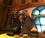 Dancing Cat Druids in Goldshire by IceDragon-Io