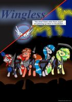 Wingless Cover (Digital) by Blumydia