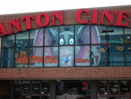 Horton Hears A Who Window Painting by adiehltwin
