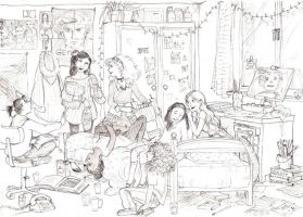 Baby-Sitters Club by gerre