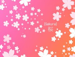 Sakura Photoshop Shape by Trinamon
