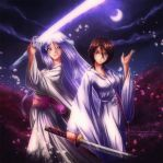 Rukia and Zanpakuto by AxsenArt