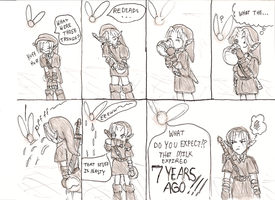 Zelda Comic 2 by athelink