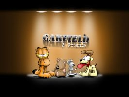 Garfield and company by Fatboy72