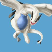 Lugia for TheCroe by GravelsGargoyle