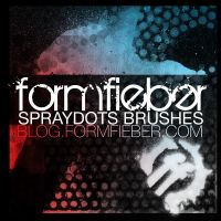 formfieber spraydots brushes by FormFieber