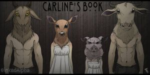 Carline's Book- Heads of the Sacrifices by Inked-Alpha