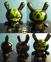 First Custom Dunny Hellcop by SpicyDonut