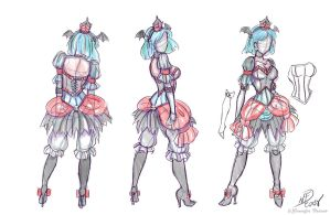 Lolita Devil Costume Design by NoFlutter